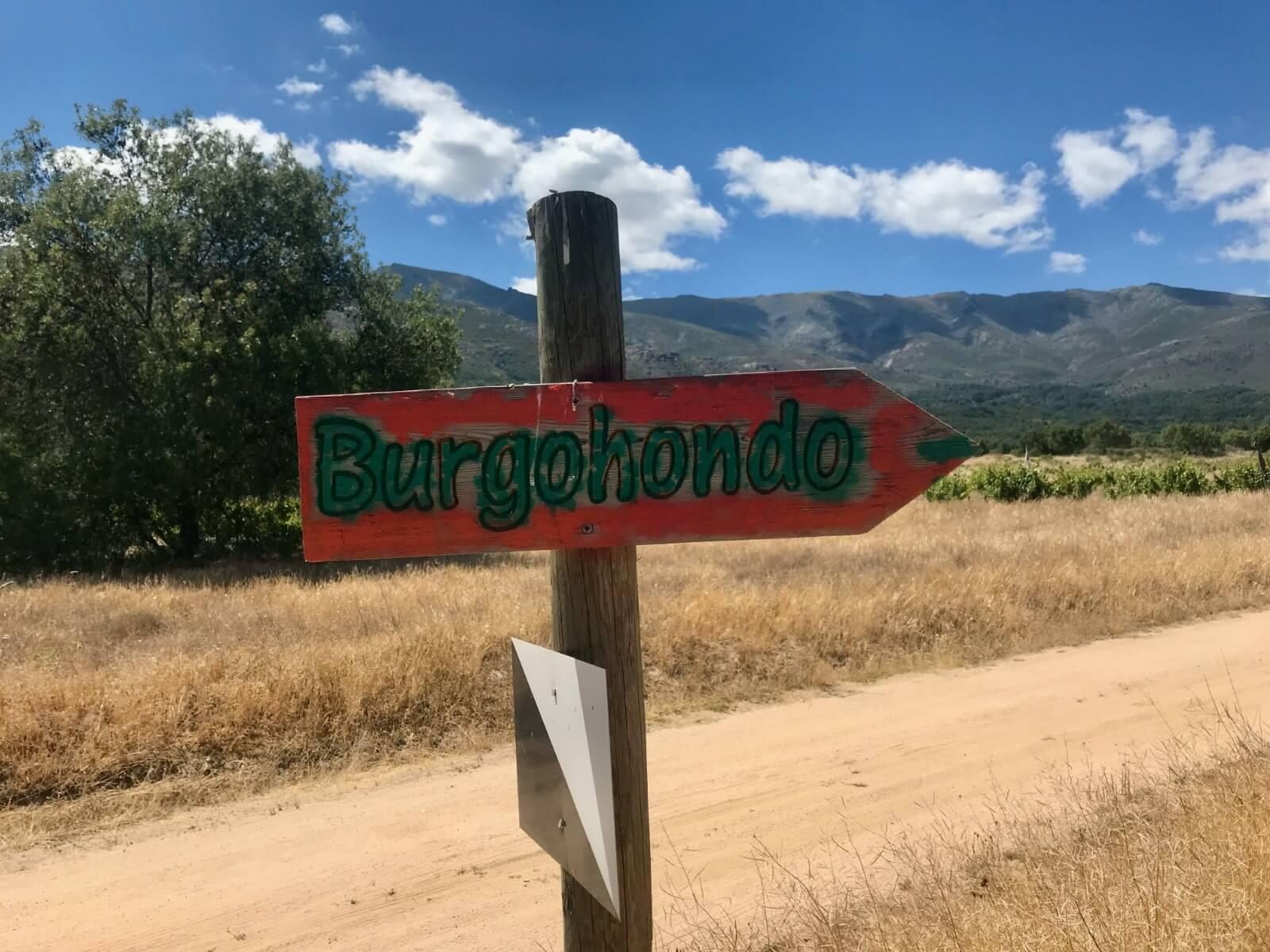 Rutas Burgohondo
